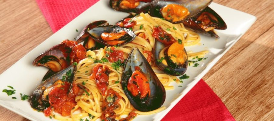 Linguine Cozze e pomodorini