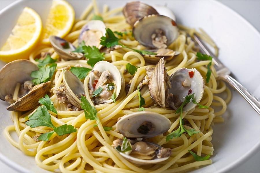 Ricetta Vongole Spaghetti.Spaghetti Alle Vongole